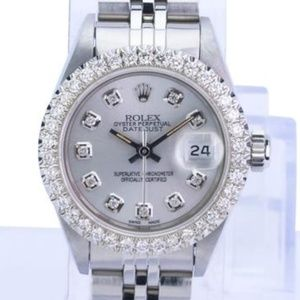 Rolex Lady Datejust Diamond Watch 26-QUICKSET